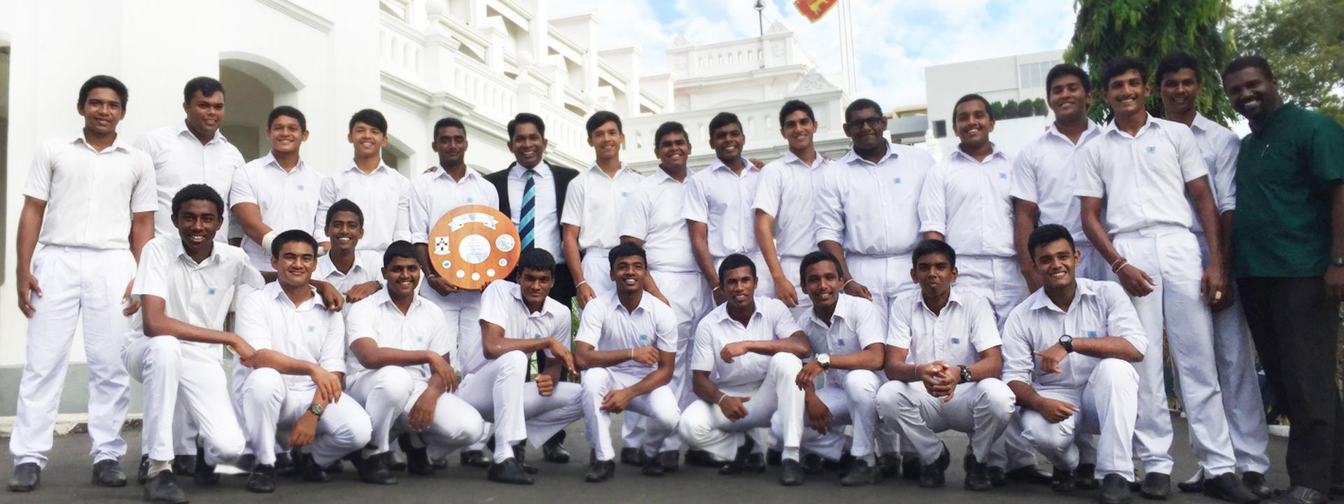 Sir Oliver E. Goonetilleke Shield came to Wesley